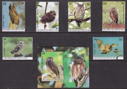 Fauna, Birds, Owls MNH / 2019 - Hiboux & Chouettes