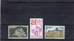 FRANCE    1976  Y.T. N° 1871  1872  1873  Oblitéré - Oblitérés