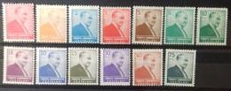 TURQUIE TURKEY N° 1267 à 1279 COTE 5,25 € 1955-6 NEUFS * MH (léger Pli Au N° 1273, 1274 Et 1277) - Neufs