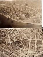 Braila - Doua Fotogrfaii Aeriene 1917 - Romania