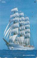 Télécarte Japon / 110-157493 - BATEAU VOILIER Caravelle - SAILING SHIP Japan Phonecard - SCHIFF-  420 - Boats