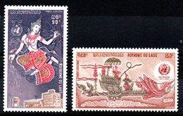 LAOS - YT PA N° 108-109 - Neufs ** - MNH - Cote: 4,40 € - Laos