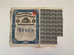 ACTION Mexico Banco Hipotecario De Credito Territorial Mexicano S.A. MEXICO 01/07/1911 Bien - Banque & Assurance