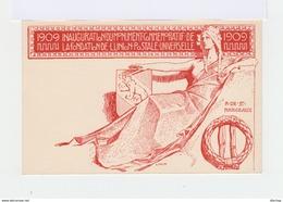 Carte Postale Commémorative De L'inauguration Du Monument De L'union Postale Universelle. (561) - Stamped Stationery