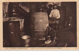 Scènes Vosgiennes : Distillation Du Kirsch à La Ferme - Très Bon état - France