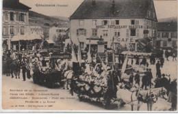 GERARDMER : Souvenir De La Cavalcade - Le Char Des Bébés - Bon état (légère Trace Au Recto) - France