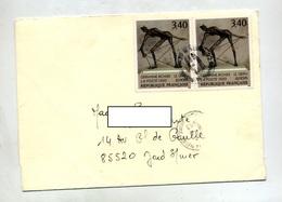Lettre Cachet Sur Richier - Postmark Collection (Covers)