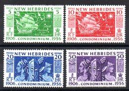 NLE HEBRIDES - YT N° 171 à 174 - Neufs ** - MNH - Cote: 9,60 € - English Legend