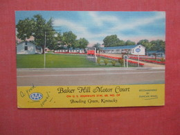 Baker Hill Motor Court     Kentucky > Bowling Green  Ref 4038 - Bowling Green
