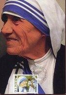 54253 Jersey, Maximum 2011, Madre Teresa Di Calcutta, Mother Teresa  Of Calcutta, Nobel Prize, Prix Nobel - Nobelpreisträger