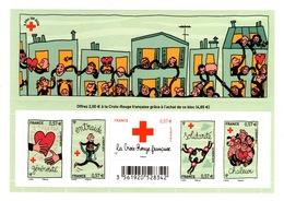 YV 4699 à 4703 N** Feuillet Croix Rouge F4699 - Prix = Faciale Hors Surtaxe - France