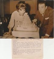 - PHOTO De Perrette PRADIER Et FERNANDEL  En 1963  - 018 - Famous People