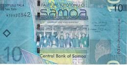 BILLETE DE SAMOA DE 10 TALA DEL AÑO 2007 (BANK NOTE) - Samoa