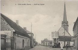 27, Eure, BOIS LE ROI, Place De L'Eglise, Scan Recto-Verso - Altri Comuni