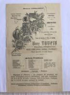 Saison 1906-1907 - Henry Taupin - Tulle - 1900 – 1949
