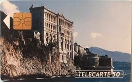 MONACO  -  Phonecard  -  MF 16  -  Musée Océanographique  -  50 Unités - Monaco