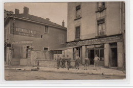 GRENOBLE : Carte Photo De L'atelier FABRY (réparation De Cycles - Garage Auto-moto) - Très Bon état - Grenoble