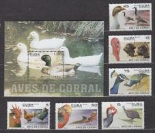 Cuba 2006 Kuba Mi 4808-4813 + Block 212(4814) Poultry / Geflügel / La Volaille / Pollame / Aves De Corral / 家禽 / Gia Cầm - Canards