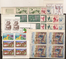 (Fb).Marocco.1958-66.Lotto 16 Serie Complete In Quartine Nuove,gomma Integra,MNH(2 Scan) (51-20) - Marocco (1956-...)