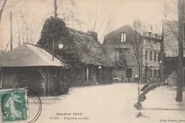 PITRE (Eure) - Janvier 1910 - Propriété Inondée - Autres Communes