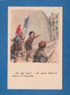 POULBOT ON LES TIENT ILS SONT BLOQUES DANS L'IMPASSE - Poulbot, F.
