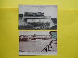 Libourne ,passerelle Tramway Electrique - Libourne