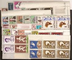 (Fb).Tunisia.1959-66.Lotto Di Serie Complete In Quartine Nuove,gomma Integra,MNH(2 Scan) (52-20) - Tunisia (1956-...)