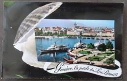 Carte Vierge - Genève, La Perle Du Lac Léman - GE Genève