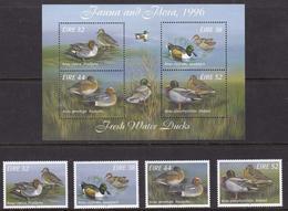 Ireland, Fauna, Birds MNH / 1996 - Canards