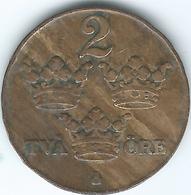 Sweden - 1928 - Gustav V - 2 Öre - KM778 - Schweden
