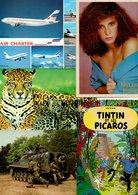 LOT 5000 CARTES POSTALES THEMES + FRANCE /  LOT 5000  POSTCARDS TOPICS + FRANCE - Postkaarten