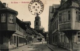 Gross-Gerau, Kirchstrasse, 1919 - Gross-Gerau
