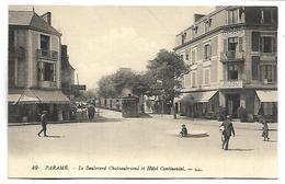 PARAME - Le Boulevard Chateaubriand Et Hôtel Continental - Parame