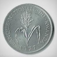 RWANDA / UN FRANC / 1977 / ALU - Rwanda