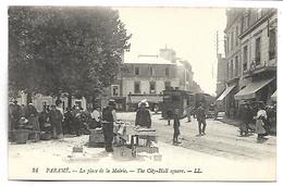 PARAME - La Place De La Mairie - TRAIN - Parame