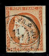 Lot 58  Colonies Générales  YT 13  Guadeloupe - France (ex-colonies & Protectorats)
