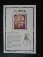 Feuillet FDC Compositeur Emmanuel Durlet Belgique 1979 (format/size 16x24cm, Ed. Sony Stamps, Tirage/printed 400) - Música