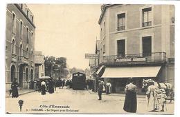 PARAME - Le Départ Pour Rothéneuf - TRAIN - Parame