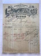 Exploitations Générale De Chiffons - Pitre - Fontenay-le-Comte 1904 - 1900 – 1949