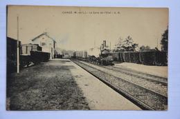 CANDE-la Gare De L'etat-train En Beau Plan-(etat Mauvais) - Other Municipalities