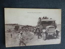 TRANSPORT DES TROUPES COLONIALES EN CAMION - Andere