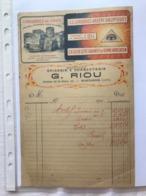 Conserves De Choix - G. Riou - Montargis 191? - Francia