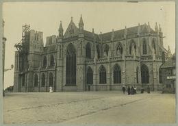 Tirage Argentique Circa 1910. Avranches. Église Notre-Dame-des-Champs. Normandie. - Plaatsen
