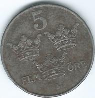 Sweden - 1948 - Gustav V - 5 Öre - KM812 - Suecia