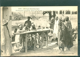 Tribunal Indigène - TBE - Fortier 208 - Sénégal