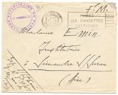 GENDARMERIE ENV FM 1939 PARIS GARDE REPUBLICAINE DE PARIS ( SANS TEXTE) - Marcofilia (sobres)