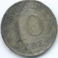 Sweden - 1941 - Gustav V - 10 Öre - KM780 - Suecia
