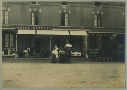Tirage Argentique Circa 1910. Hôtel Bonneau. Avranches ? À Situer. Normandie. - Plaatsen