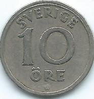 Sweden - 1925 - Gustav V - 10 Öre - KM795 - Suecia