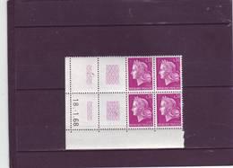 N° 1536 - 0,30 CHEFFER - TD3 - 18.1.1968 - - Dated Corners